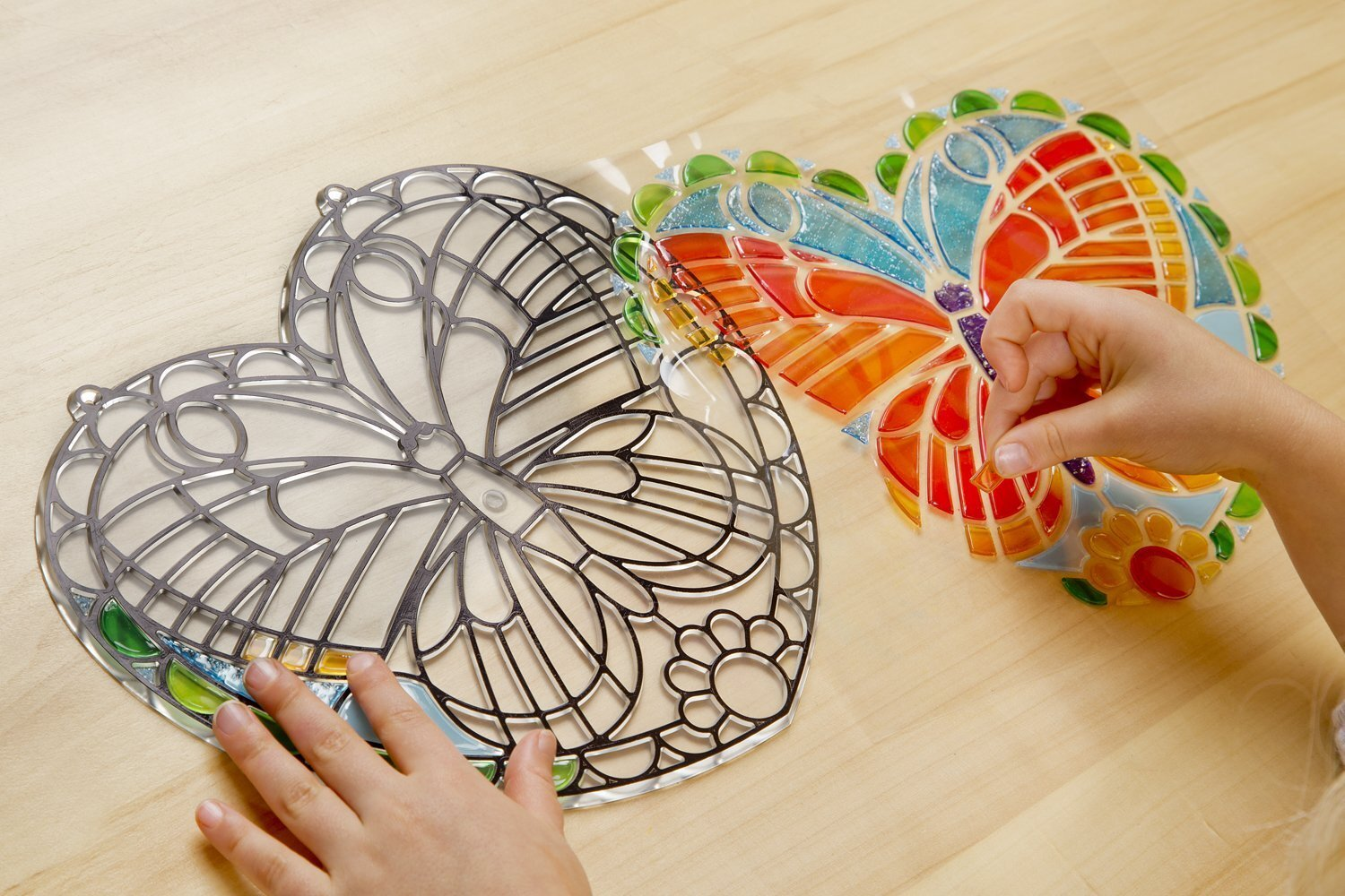 Buy Melissa & Doug - Stained Glass Made Easy - Butterfly