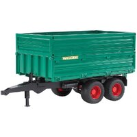 Bruder - Tipping Trailer With Removable Top 02010