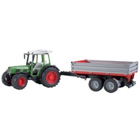 Bruder - Fendt 209 S with Tipping Trailer 02104