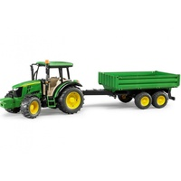 Bruder - John Deere 5115 M Tractor and Tipping Trailer 02108