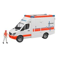 Bruder - MB Sprinter Ambulance with Driver 02536