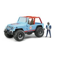 Bruder - Jeep Cross Country Racer Blue 02541