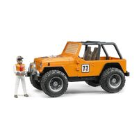Bruder - Jeep Cross Country Racer Orange 02542