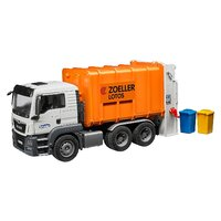 Bruder - MAN TGS Rear Loading Garbage Truck Orange 03762