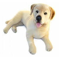 Bocchetta - Beau Yellow Labrador Lying Plush Toy 60cm
