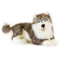 Bocchetta - Madison Siberian Husky Plush Toy 44cm