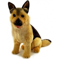 Bocchetta - Major German Shepherd Sitting Plush Toy 40cm