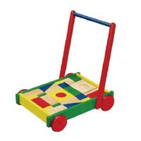Viga Toys - Baby Walker with Blocks