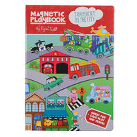 Tiger Tribe - Magnetic Play Book - Transport in the City