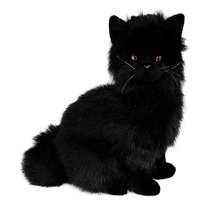 Bocchetta - Crystal Black Cat Plush Toy 27cm