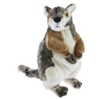 Bocchetta - Wattle Rock Wallaby with Joey Plush Toy 30cm