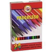 Koh-I-Noor - Progresso Coloured Pencils (24 pack)
