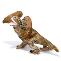 Bocchetta - Philly Frilled Neck Lizard Plush Toy 34cm
