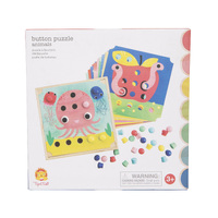 Tiger Tribe - Button Puzzle - Animals