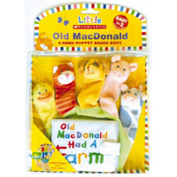 Old Macdonald Had a Farm Handpuppet & Board Book