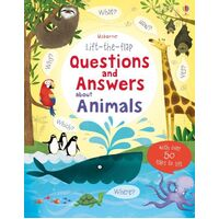 Usborne - Lift-The-Flap Questions And Answers: About Animals