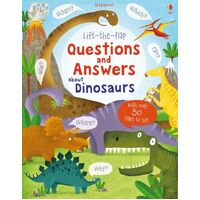 Usborne - Lift-The-Flap Questions And Answers: About Dinosaurs