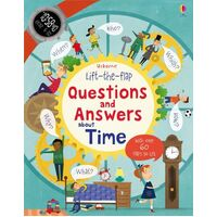 Usborne - Lift-The-Flap Questions And Answers: About Time