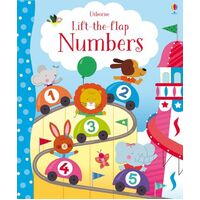 Usborne - Lift The Flap Numbers
