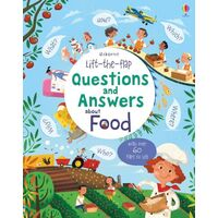 Usborne - Lift-The-Flap Questions And Answers: About Food