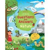 Usborne - Lift-The-Flap Questions And Answers: About Nature