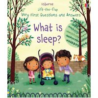 Usborne - Lift-The-Flap Very First Questions And Answers: What Is Sleep?