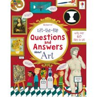 Usborne - Lift-The-Flap Questions And Answers: About Art