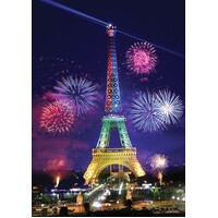Anatolian - Eiffel Tower Glow in the Dark Puzzle 1000pc