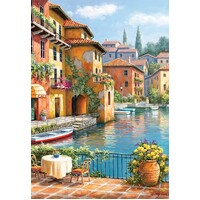 Anatolian - Cafe at the Canal Puzzle 260pc