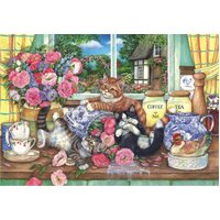 Anatolian - Kittens in the Kitchen Puzzle 500pc