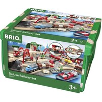 BRIO - Deluxe Railway Set (87 pieces)