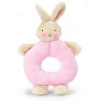 Bunnies by the Bay - Bunny Ring Rattle Pink