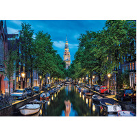 Educa - Amsterdam Canal at Dusk Puzzle 1500pc