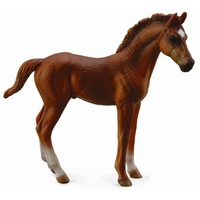 Collecta - Thoroughbred Foal Standing - Chestnut 88671