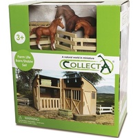 Collecta - Stable Playset with Horses 89695