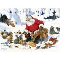 Cobble Hill - Santa Claus and Friends Family Puzzle 350pc