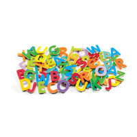 Djeco - 83 Small Magnetic Upper Case Letters
