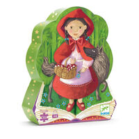 Djeco - Little Red Riding Hood Puzzle (36pce)