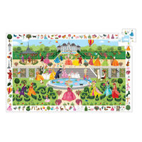 Djeco - Garden Party Observation Puzzle 100 pieces
