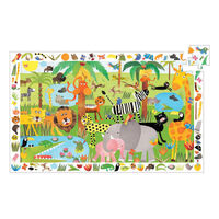 Djeco - Jungle Observation Puzzle 35 pieces