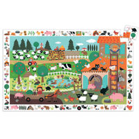 Djeco - The Farm Observation Puzzle 35pc