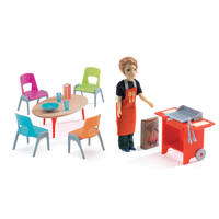 Djeco - Barbeque & Accessories Set