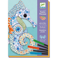 Djeco - Motif Art Felt Tip Brushes
