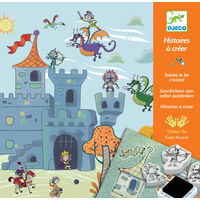 Djeco - Knights Create a Story Boxed Set