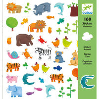 Djeco - Animal Stickers