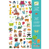 Djeco - 1000 Stickers for Little Ones
