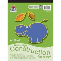 Pacon - Heavyweight Construction Paper Pad 9x12 (48 Sheets)