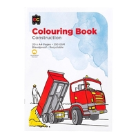 EC - Construction Colouring Book