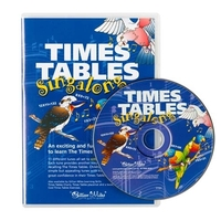 Gillian Miles - Singalong CD Times Tables