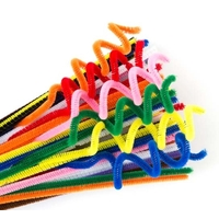 EC - Chenille Stems 10 Colours (100 pack)